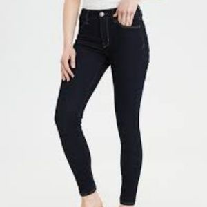 American Eagle Outfitters Black High Rise Jegging